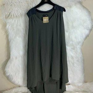 Mary & Mabel NWT Olive Dress Size Small Green New
